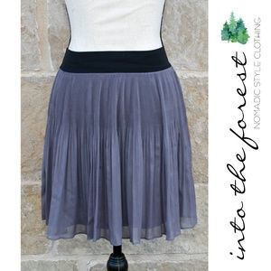 NWT Free People Dark Purple Skirt Small